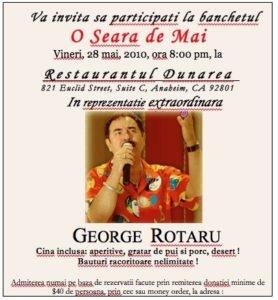 Viitorul Roman Society invited GEORGE ROTARU