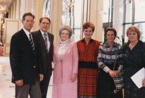 Regele Mihai, Jon Cepoi, Millie Bonca, Dorina Riscuta, Regina Ana, și Stela Cepoi