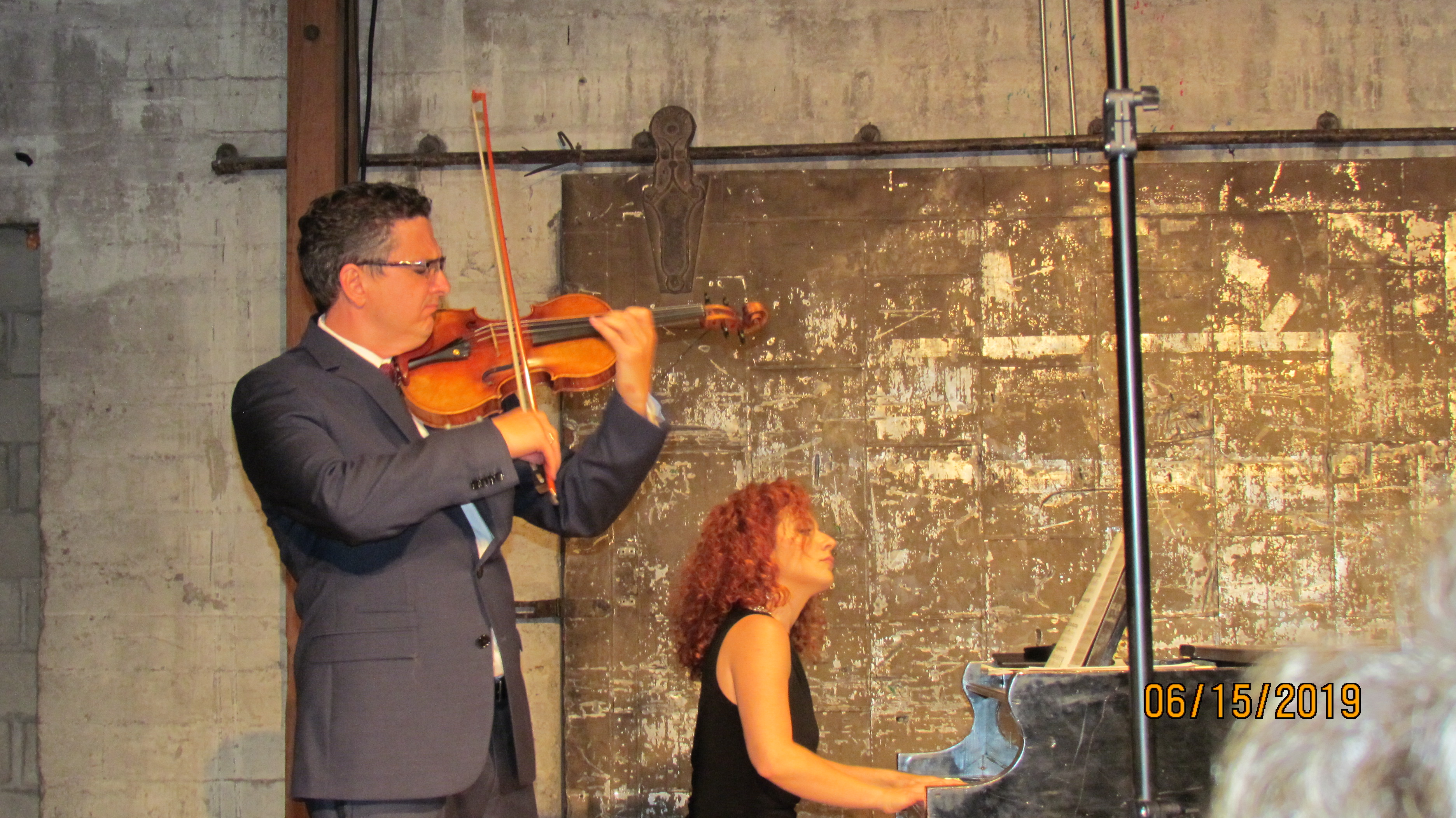 Concert and CD release with FA2 Violin and Piano Duo